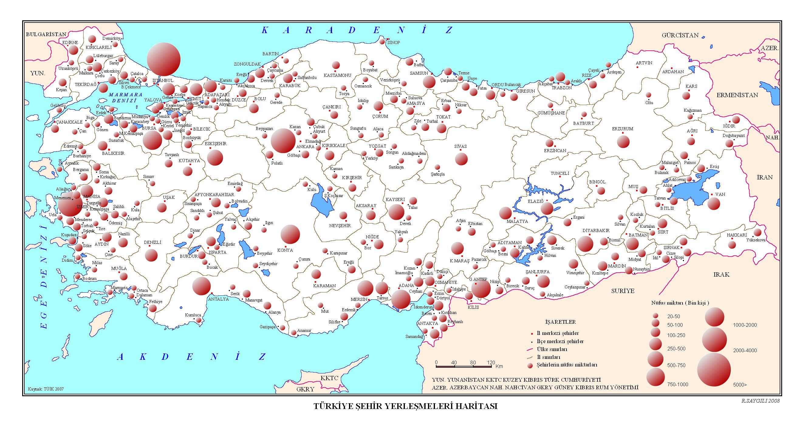 Türkiye Haritası Indir Coğrafya Bilim